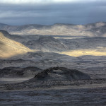 Lava by Askja volcano