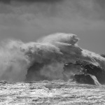 Wave action by Dyrholaey