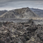 Lava by Krafla volcano